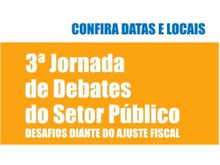 3ª Jornada de Debates do Setor Público